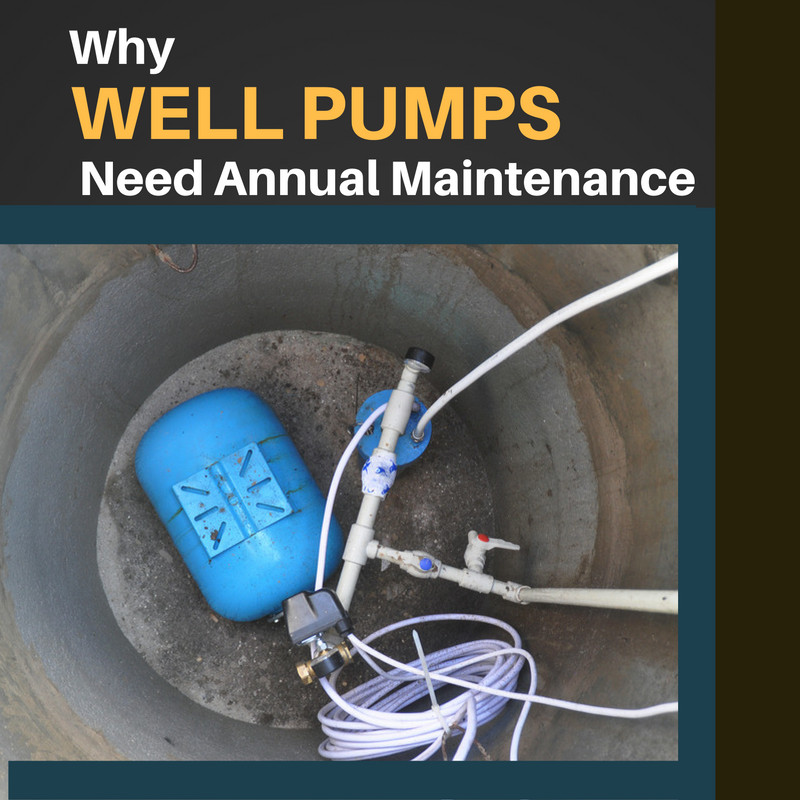 Why Well Pumps Need Annual Maintenance